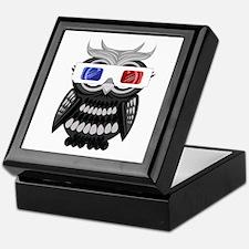 Owl - 3D Glasses Keepsake Box