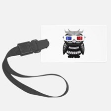 Owl - 3D Glasses Luggage Tag