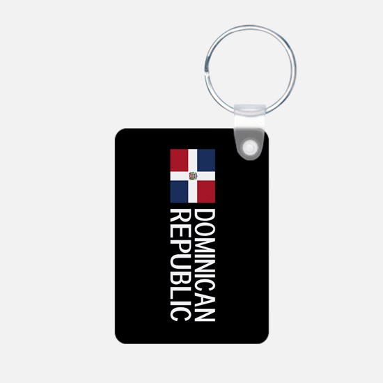 Dominican Republic: Domini Aluminum Photo Keychain