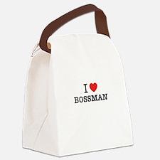 I Love BOSSMAN Canvas Lunch Bag