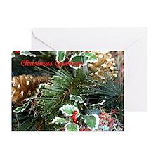 Christmas Greenery Greeting Cards (Pk of 10)