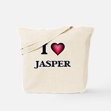 I love Jasper Tote Bag