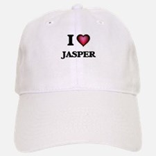 I love Jasper Baseball Baseball Cap