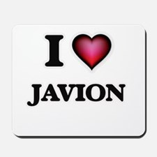 I love Javion Mousepad