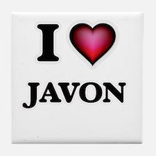 I love Javon Tile Coaster