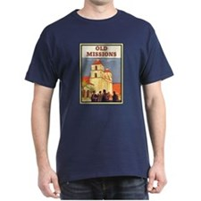 Vintage Santa Barbara Mission T-Shirt