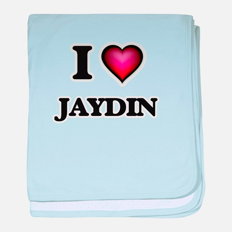 I love Jaydin baby blanket