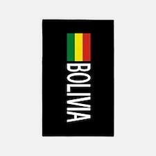 Bolivia: Bolivian Flag & Boliva Area Rug