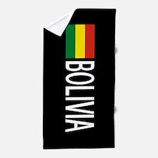 Bolivia: Bolivian Flag & Boliva Beach Towel