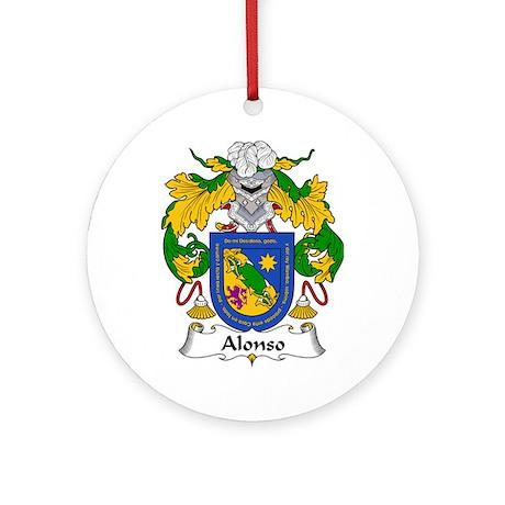 Alonso I Ornament (Round)