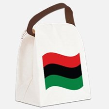 The Red, Black and Green Flag Canvas Lunch Bag