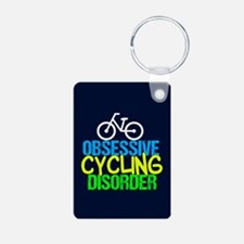 Cool Cycling Neon Keychains