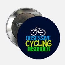 """Cool Cycling Neon 2.25"""" Button"""