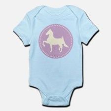 American Saddlebred horse silhouette Body Suit