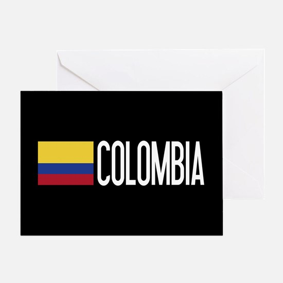 Colombia: Colombian Flag & Colombia Greeting Card