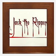 The Ripper Framed Tile