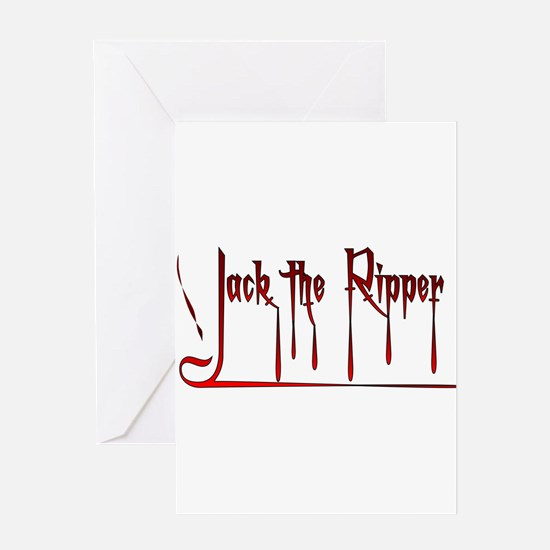 The Ripper Greeting Cards