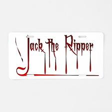 The Ripper Aluminum License Plate