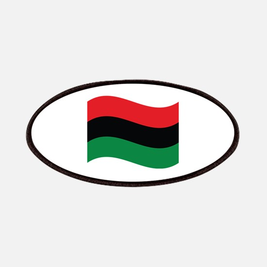 The Red, Black and Green Flag Patch
