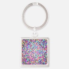 Colorful stained glass Keychains