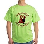 I Like Girls That Like Girls Green T-Shirt