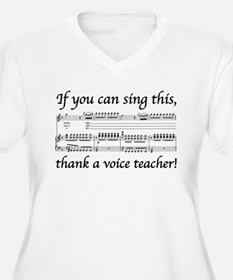 Thanks a Voice Teacher T-Shirt