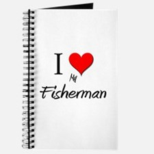I Love My Fisherman Journal