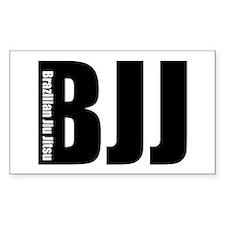 BJJ - Brazilian Jiu Jitsu Rectangle Decal