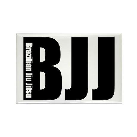 BJJ - Brazilian Jiu Jitsu Rectangle Magnet