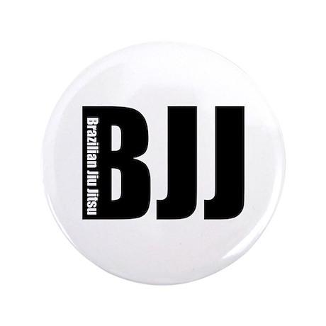 "BJJ - Brazilian Jiu Jitsu 3.5"" Button"