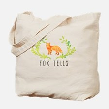 Cute Fox tote Tote Bag
