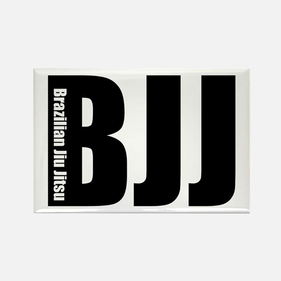 BJJ - Brazilian Jiu Jitsu Rectangle Magnet