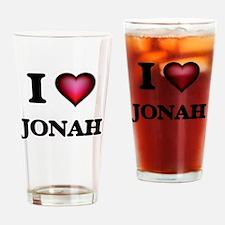 I love Jonah Drinking Glass