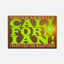 Cool I survived the wildfires Rectangle Magnet