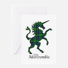 Unicorn - Abercrombie Greeting Card