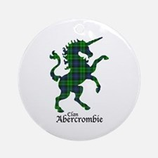 Unicorn - Abercrombie Round Ornament
