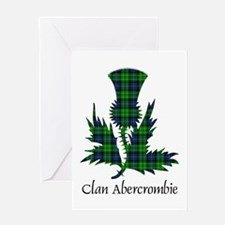 Thistle - Abercrombie Greeting Card
