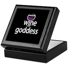 Wine Goddess Keepsake Box