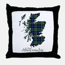 Map - Abercrombie Throw Pillow