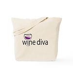 Wine Diva Tote Bag
