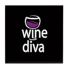 Wine Diva Tile Coaster