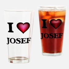 I love Josef Drinking Glass