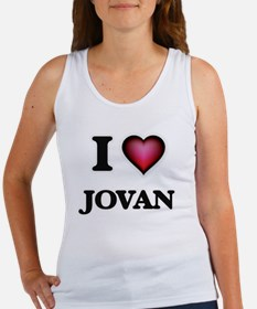 Unique I heart jovan Women's Tank Top