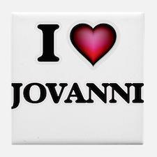 I love Jovanni Tile Coaster
