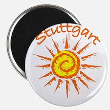 """Stuttgart, Germany 2.25"""" Magnet (10 pack)"""