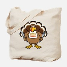 Gobble Turkey Tote Bag