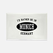 I'd Rather Be in Munich, Germ Rectangle Magnet