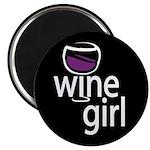 Wine Girl Magnet