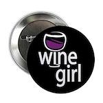 Wine Girl Button