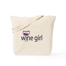 Wine Girl Tote Bag